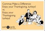 Some Real Grammar Turkeys! Happy Thanksgiving!