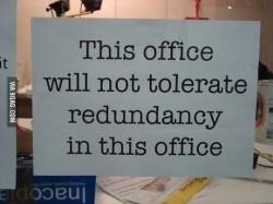 Redundancy in Writing