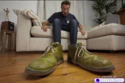 Feet too big?